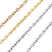 Simsimi en acier inoxydable vendre en mètre doré couleur 6mm rolo chaîne épais hommes lourds bijoux bricolage fabrication de gros collier 1m chaînes