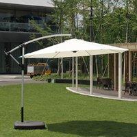 Gölge Açık Bahçe Büyük Şemsiye Sunshade Stall Plaj Sun Yedek Kumaş Avlu için