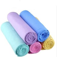 Towel 44*32*0.2CM Super Clean Chamois Car Wash Cleaner Accessories Screen Cleaning Hair Drying Cloth