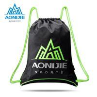 Aonijie H935 H936 Unisex Drawstring Gym Sack Sackpack Backpack Cinch Bag para deportes al aire libre Entrenamiento de ejercicios A0510