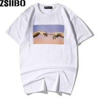 Zsiibo Marka erkek Yaz ve Yüksek Kalite 3D Kısa Kollu Avrupa ve Amerikan Büyük Boy Moda erkek T-shirt MC88