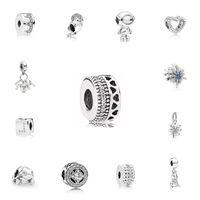 Silber Farbe Infinite Glanz Sweet Home Perlen Fit Pandora Original Charms Armbänder Anhänger Schmuck Schmuck Für Frauen DIY Machen 815 T2