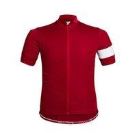 Verano Rapha Pro Team Men's Cycling Jersey Mangas cortas Camisas de carreras de carretera Montar en bicicleta Tops transpirable Uniforme deportivo al aire libre S21040515