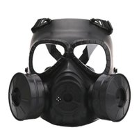 Tactical Hood Gas Mask Breathing Creative Stage Performance Prop For CS Field Equipment Cosplay Protection Halloween Evil