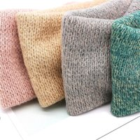 Kawaii Fashion Solid Knitting Cross Knot Woolen Warm Headbands Hair Holder Elastic Hairbands Headwraps Accessories Shower Caps