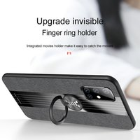Splicing woven design Case For Samsung Galaxy A10S A20S A21S A40 A51 A12 A71 4G 5G A70 A90 A42 A50 A30S A32 A52 A72 Finger ring bracket protective Phone shell