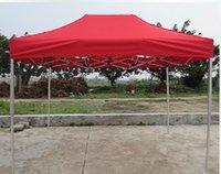 6 * 10 feets de alta qualidade alumínio dobrável tamanho tamanho 2 * 3meters cor azul e vermelho tendas abrigos