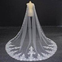 Wraps & Jackets 2021 Lace Long Bridal Bolero White Ivory Black Cape For Wedding Dress Bolerko Slubne Accessories