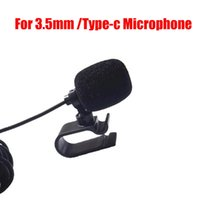 المهنيين سيارة الصوت ميكروفون 3.5 ملليمتر جاك التوصيل مايكروفون ستيريو مصغرة السلكية ميكروفونات خارجية للسيارات دي في دي راديو 3m السيارات الطويلة AUD DHL