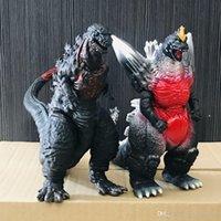 Lot2pcs / set 30cm Godzilla Resurgencia Shin Godzilla Ultraman Monsters Colección de películas Figura de acción Regalo de juguete