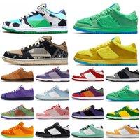 SB Dunk Low Chunky Dunky Para hombre de las mujeres originales de los zapatos corrientes de azul verde rojo de triple tn zapatillas deporte al aire libre Formadores chaussure