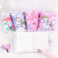1 PC Cute Unicorn Flamingo Memo Pad Sticky Notes Memo Notepad Notebooks Gift Kawaii Stationery