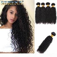 Кудрявые пакеты оптом человеческие волосы навалом в заводской цене 4 пачка 100 г Бразильская глубокая вьющиеся вьющиеся волна наливные волосы для плетения человеческих волос