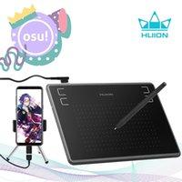 Huion H430P graphiques dessin tablettes numériques Signature Pen Tablet OSU Tablette de jeu avec stylet sans batterie
