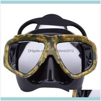 Snorkeling Water Sports & Outdoorsprofessional Myopia Scuba Diving Mask Anti Fog Swimming Masks Googles Drop Delivery 2021 1Q0Z3