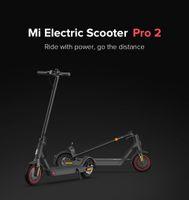Xiaomi Mijia الكهربائية سكوتر برو 2 الأصلي مياجيا طوي الكهربائية مي خفيفة الوزن سكيت 25 كيلومتر / ساعة 45km المسافة ABS 12800mAh