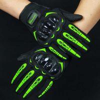 Luvas de motocicleta pro motocicleta para homem mulher de dedos completos motor luva motocicleta esporte m / l / xl / xxl motocross eld