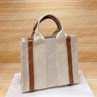 Womens mini totes borse moda donne tela woody tote piccole borse borse borse shopper