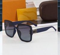 0083 Popüler Moda Güneş Gözlüğü Kare Tarzı Tam Çerçeve Yüksek Kaliteli UV Koruma 0083 S Güneş Gözlüğü Gözlük Çantası ile