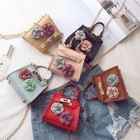 Bolso de moda Hobbbaggo Mujer Mini Bolso floral Cadena de hombro Pequeño Mensajero Crossbody S Coin Wallet 88 Mejor Venta- N