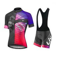 2021 PROFESSIONAL TEAM CLINING TEAM Mountain bike Traspirante vestito Iam ropa ciclismo uniforme da donna