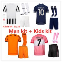 2020 2021 Juventus RONALDO masculino e masculino kits camisa de futebol 20 21 DYBALA DE LIGT MORATA camisas de futebol camisa de futebol infantil