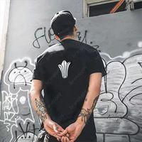 Summer Fashion Designer T-shirt per uomo Tops Luxury Letter Ch Sanskrit Shirt Mens Abbigliamento donna Abbigliamento a maniche corte