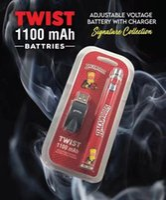 Original Cookies Runtz Backwoods Vape Pen Twist-Battery with Usb Charger 1100mah Adjustable E-Cig battery Bob Marley