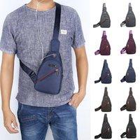 Waist Bags Waterproof Nylon Chest Bag Men Women Portable Running Shoulder Travel Sling Pack Messenger For Male