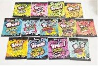Trrlli Trolli Mylar Çanta 600 mg Boş Peacıe Ekşi Yeneler Şeker Gummi Fermuar Sıfırlanabilir Ambalaj Çanta Ücretsiz JNGVJMG