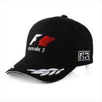 Embroidery Sports F1 Racing Cap Mens Hat For Fish Outdoor Fashion Line Baseball Long Visor Brim Shade Snapback Sun