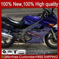 Kawasaki Ninja Zzr250 zzr-250 90 95 96 97 98 99 96 97 98 99 Bodywork 54HC.5 ZZR 250 CC 1990 1994 1992 1993 1994 1995 1996 1997 1998 1999 공장 블루 OEM 페어링