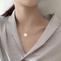Круглый угол кулон ожерелья женская цепочка мода ювелирные изделия OL RAS Высококачественные шеи кухочки