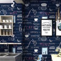 Duvar Kağıtları İngilizce Alfabe Duvar Kağıdı Retro Nostaljik 3D Stereo Kişilik Moda Siyah Yatak Odası Kahve Restoran PVC Su Geçirmez Wallpape