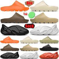 yeezy slides kanye west foam runner uomo donna sandalo pantofole sandali scorrevoli Enflame Orange Desert Sand Resin Bone scarpe da ginnastica da donna da donna