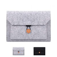 Storage Bags 11.6 13.3 Inch Laptop Sleeve Felt Ultralight Notebook Tablet Pad Case Multi-pocket Pouch Bag Briefcases For Apple Macbook  Asus