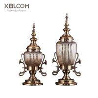 Vasen europäische amerikanische geometrie retro geschnitzte kristall glas vase blumentopf obst lagerung jar kerze statue hause hochzeit dekor xo