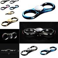 Hand Zappeln Spinner Metall Student Blue Auto Schlüsselanhänger Anhänger Ring Handsacker Antistress Spielzeug UFO1