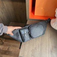 كريستوفر بومباج بوم حقيبة مصمم الرجال الخصر خمر الأمتعة مصممين الفمز حزام حقيبة محفظة محافظ الخصر حقائب الكتف M45337