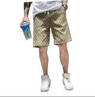 21ss Mens Designer Shorts Pantalones Pantalones Jacquard Tejido Carta Men Pantalón Pantalones Casuales Pantalones Khaki Blue 02