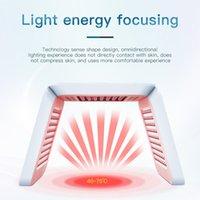 Más nuevos portátiles 7 colores PDT LED Máquina de terapia de luz Tratamiento de acné Rejuvenecimiento de la piel Máscara de cara plegable