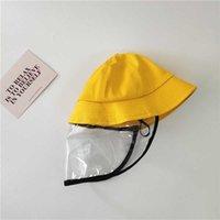 Chapeau de godet gouttelette adulte adulte jaune anti-chapeau de la maternelle de la pêche de la maternelle