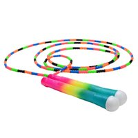 Jump Ropes Rope Adjustable Colourful Premium Workout Fitness Cardio Skipping For Women Men YS-BUY