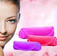 40 * 17cm L Wiederverwendbare Mikrofaser Frauen Gesichtsgewebe Magie Gesicht Handtuch Make-up Entferner Haut Reinigung Waschhandtücher Home Textilien GGA2664