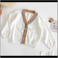 Jackets Outwear Baby Clothing Baby, Kids & Maternitybaby Girl Knitted Long Sleeve Cotton Childrens Cardigan Sweater Born Outerwear Infant Gi