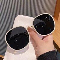 Sunglasses Fashion Women Oversized Designer Vintage Ladies Round Sun Glasses Female Shades Eyewear