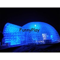 Giant Party Bubble House,double Layer Transparent Family Wedding Room For Camping ,inflatable Pvc Dome Tent Tents And Shelters