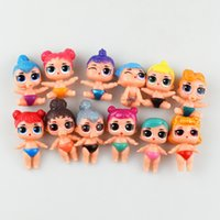 cartoon Figurine toy pvc cute doll room toppers Birthday Par...
