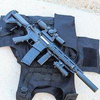 Giocattolo elettrico Gun M416 Submachine Fucile Sniper Airsoft Crystal Bomb Airsoft Ball Ball Pistol Modello per adulti Ragazzi Regali di compleanno Regali CS Combattimento