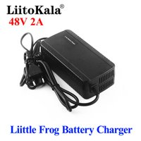 Liitokala 36V 48Vリトルカエル充電器42V 54.6V 2A充電器リチウムイオン充電器10S 13S 36V 48 V電動バイク